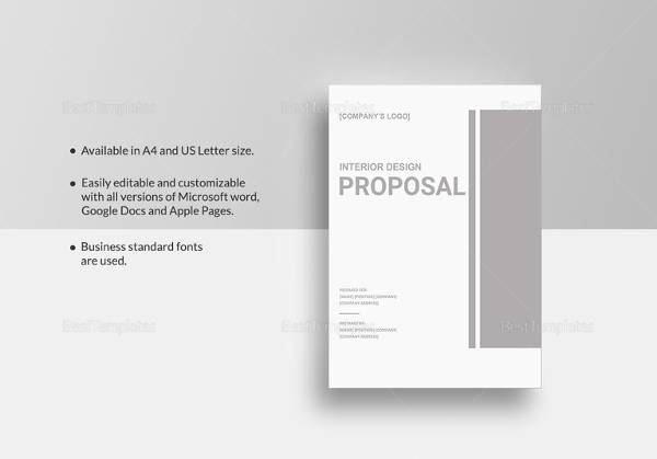 Sample Interior Design Proposal Template - 15+ Free Documents in PDF
