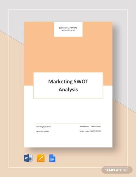 10+ Business SWOT Analysis Samples  Templates - Word, PDF