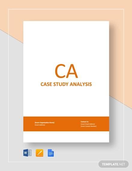 9+ Sample Case Analysis Templates - Word, PDF