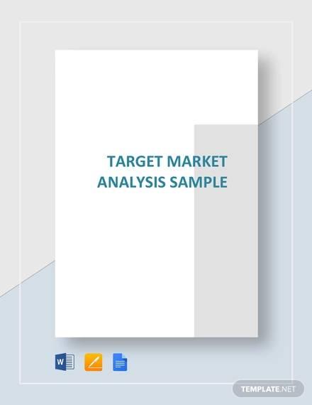 10+ Target Market Analysis Samples - PDF, Word
