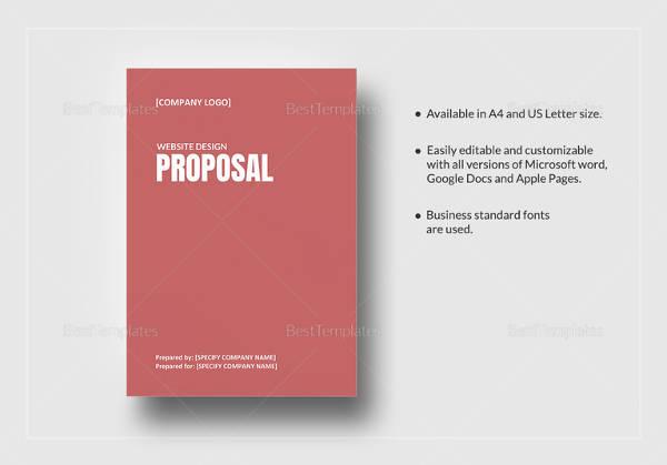 11+ Web Design Proposal Templates Sample Templates