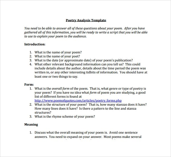 Examples of analytical essays - analysis paper template
