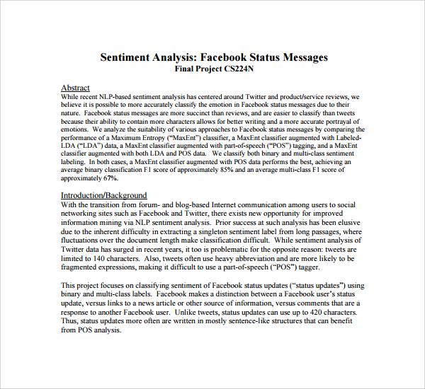 character analysis sample essay