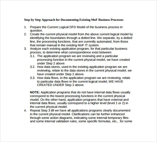 8 Process Manual Templates to Download Sample Templates - business manual template
