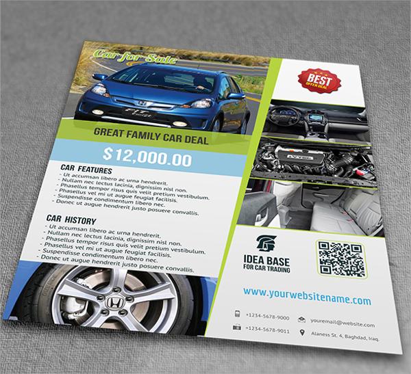 14+ Car For Sale Flyer Templates Sample Templates - car sale flyer
