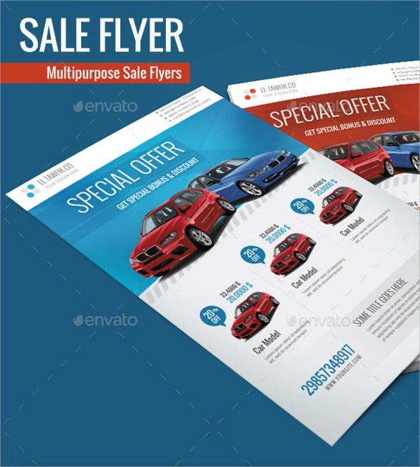 16 + Car For Sale Flyer Templates - AI, PSD, Word, EPS Vector