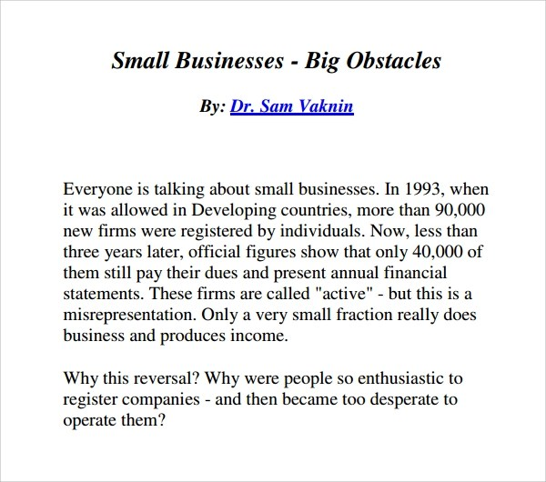 Sample Business Manual Template - 6+ Free Documents in PDF