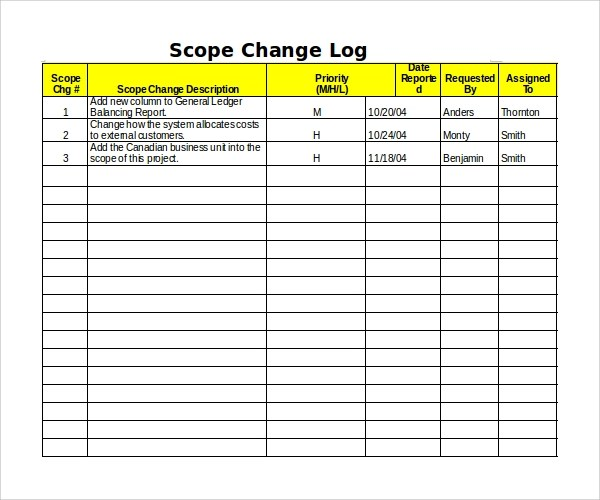 Fancy Change Log Template Model - Best Resume Examples by Industry