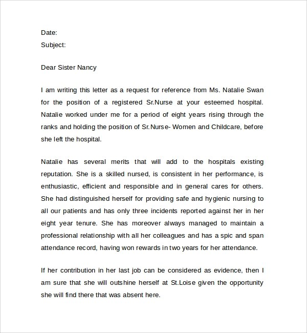 letters of recommendation nursing - Onwebioinnovate - nursing recommendation letter