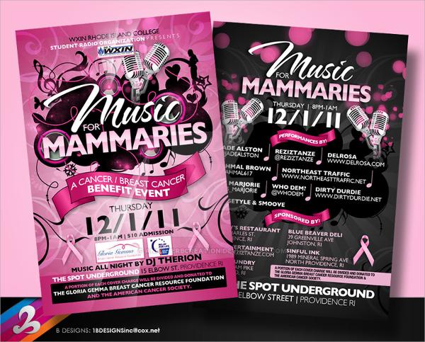 20+ Benefit Flyer Templates Sample Templates - cancer fundraiser flyer template
