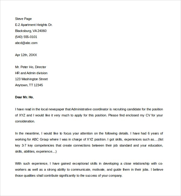 Cover Letter For Doc  Cover Letter Examples Teaching Uk