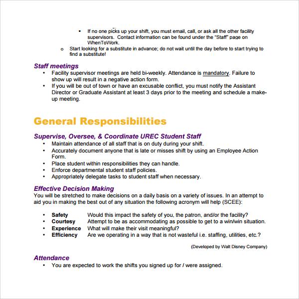 Sample Training Manual Logos 6 Training Manual Vol 2 Logos 6 - staff manual template