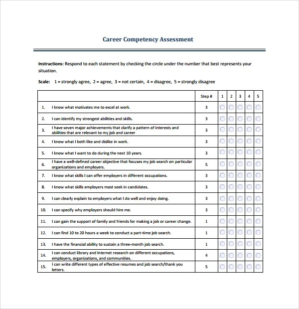 ... Skills Assessment Template 2) Managing Your Product Management   Assessment  Template ...