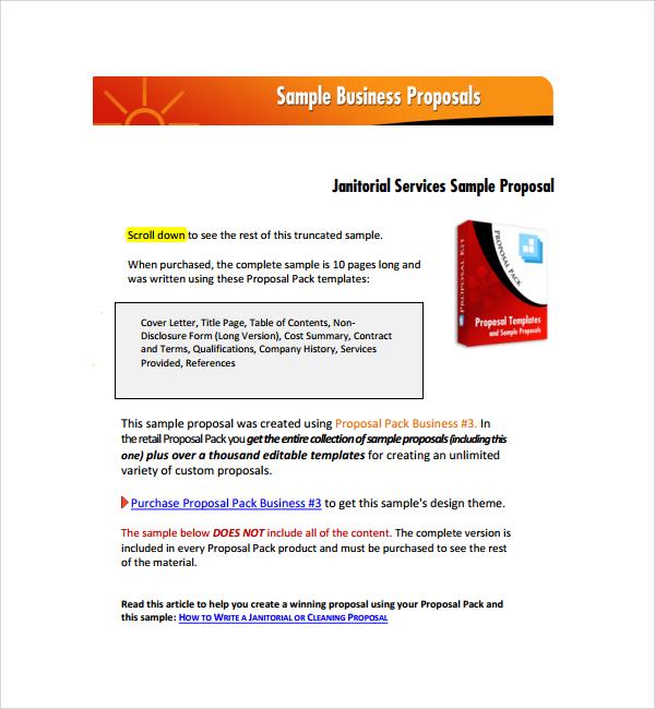 Sample Proposal Quotation Sample Proposal Request Letter Sample - business quotation sample