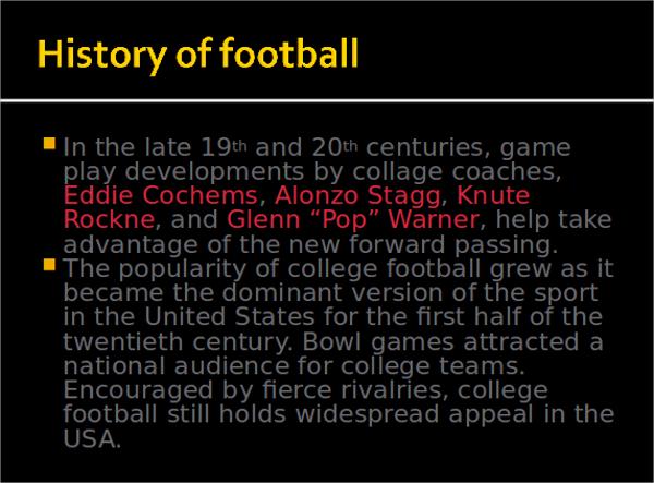 7+ Football PowerPoint Templates Sample Templates - football powerpoint template