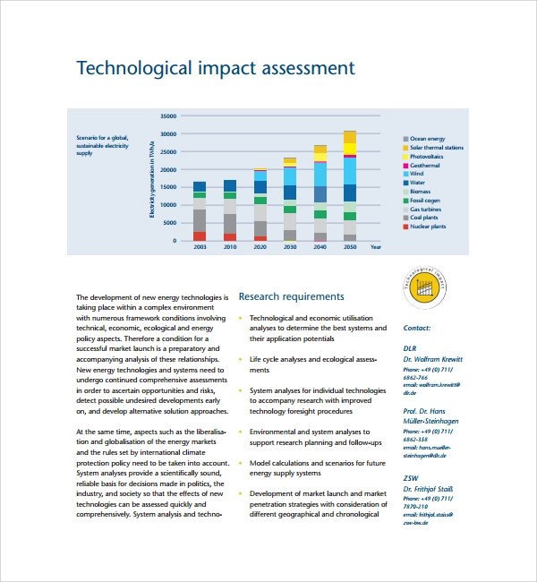 Impact Assessment Template | oakandale.co