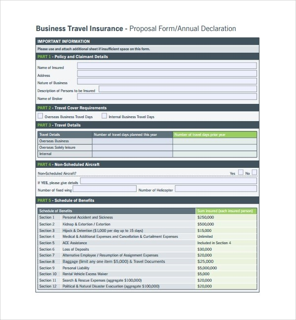 Business Proposal For Travel AgenciesTravel Proposal Template