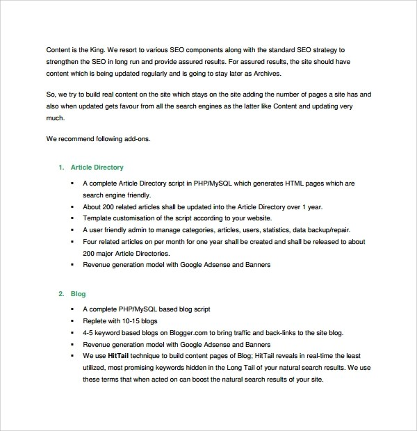 sample proposal template word document