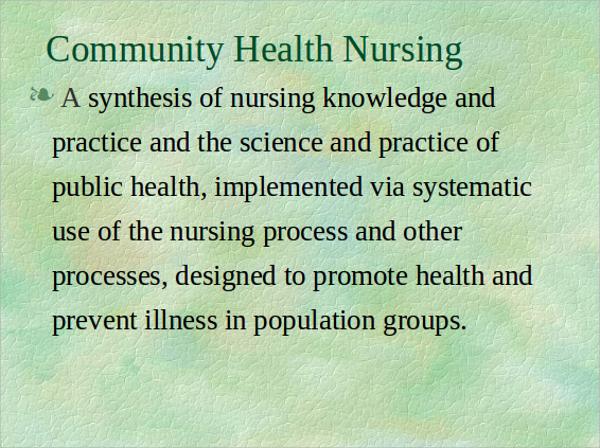 7+ Nursing PowerPoint Templates Sample Templates