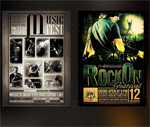 21+ Band Flyer Templates Sample Templates - band flyer template