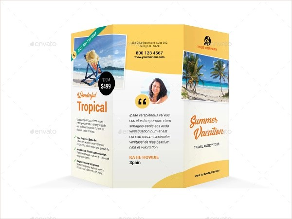 14+ Vacation Brochure Templates Sample Templates - Vacation Brochure Template