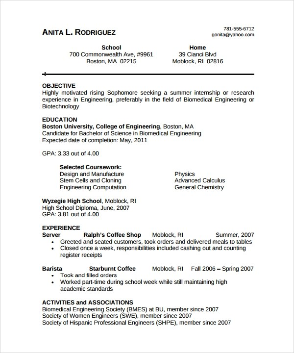 Resume examples biomedical engineering resume ixiplay free resume resume examples biomedical engineering format job resume free download professional resumes sample online downloadable templates yelopaper Images