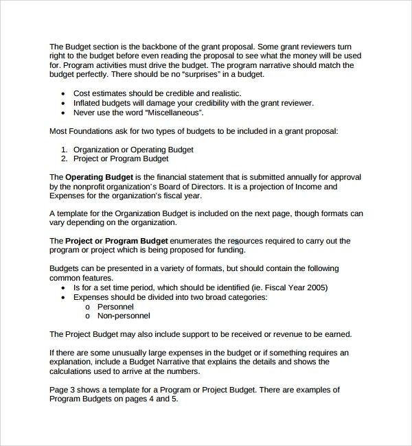 Project Proposal Example 6+ Business Proposal Template Pdf - business project proposal template