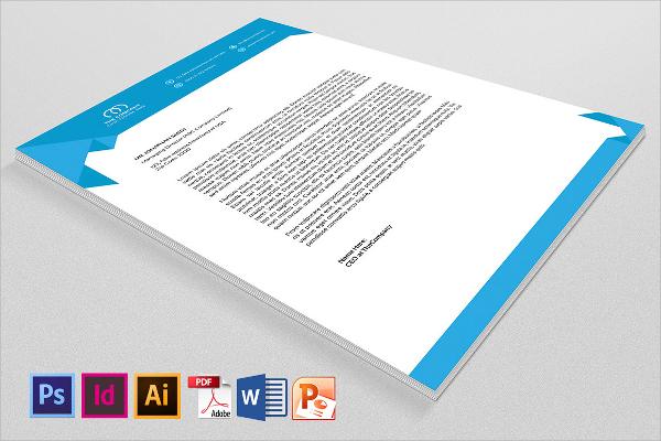 Sample Company Letterhead Template - 37+ Download in PSD, AI - corporate letterhead template