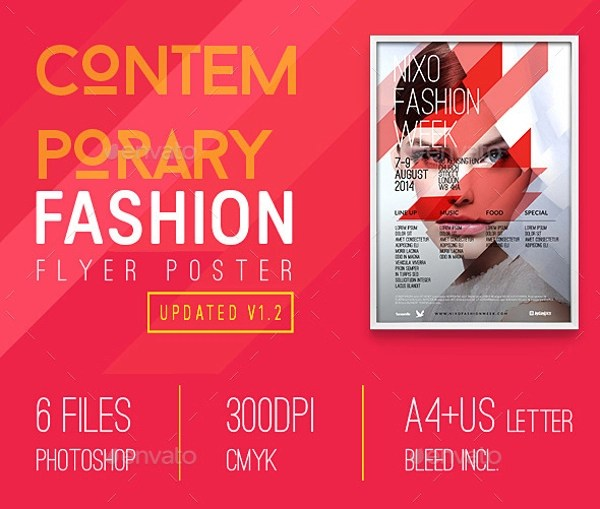 Contemporary Flyer - 9+ Download in PSD - contemporary flyer