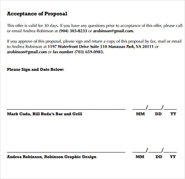 Sample Interior Design Proposal Template - 15+ Free Documents in - graphic design proposal template