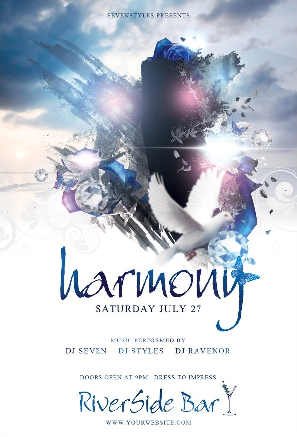 Harmony Flyer Template - 11+ Download in PSD, Vector Illustrator