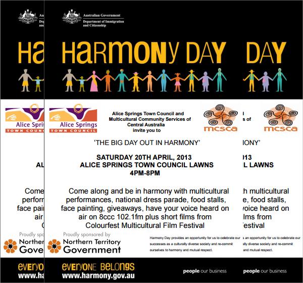 harmony flyer template - Basilosaur