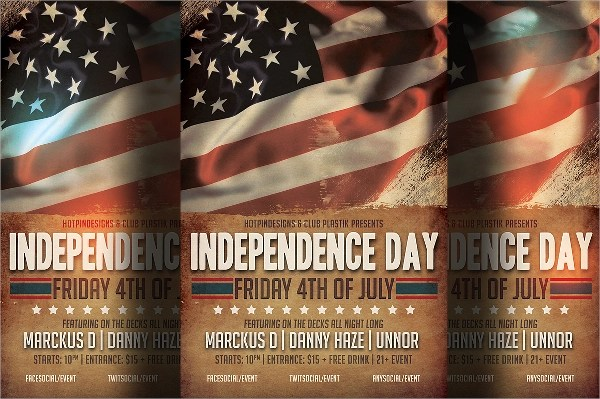 Independence Day Flyer Template - 20+ Download In Vector EPS, PSD