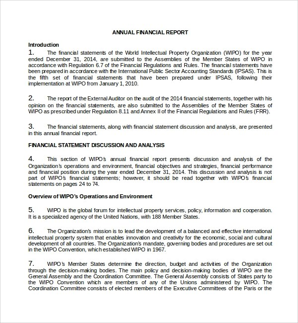 company financial analysis report sample node2003-cvresume - company annual report sample