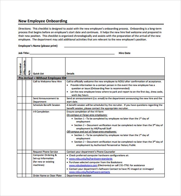 onboarding schedule template - Goalgoodwinmetals