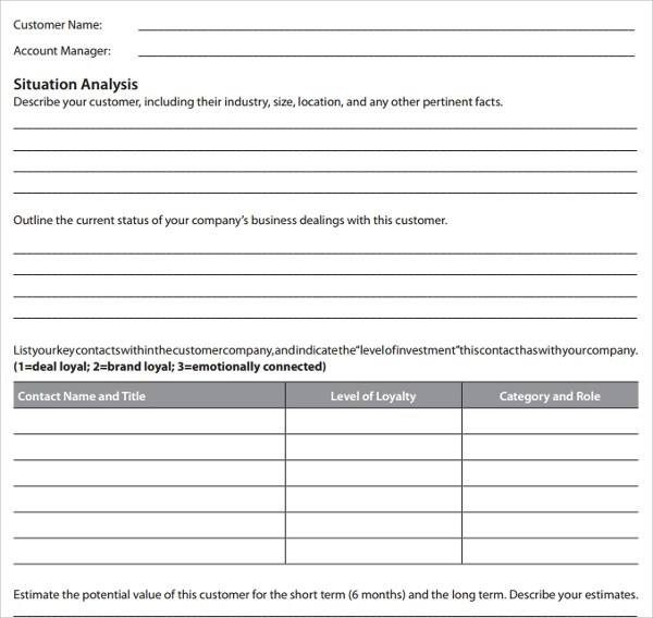 Safety Plan Template Free | Consultant Resume List Client