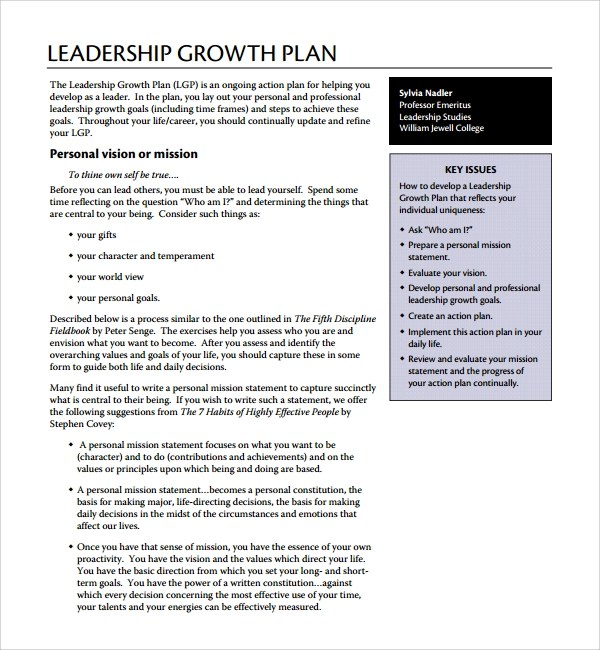 9+ Growth Plan Templates Sample Templates