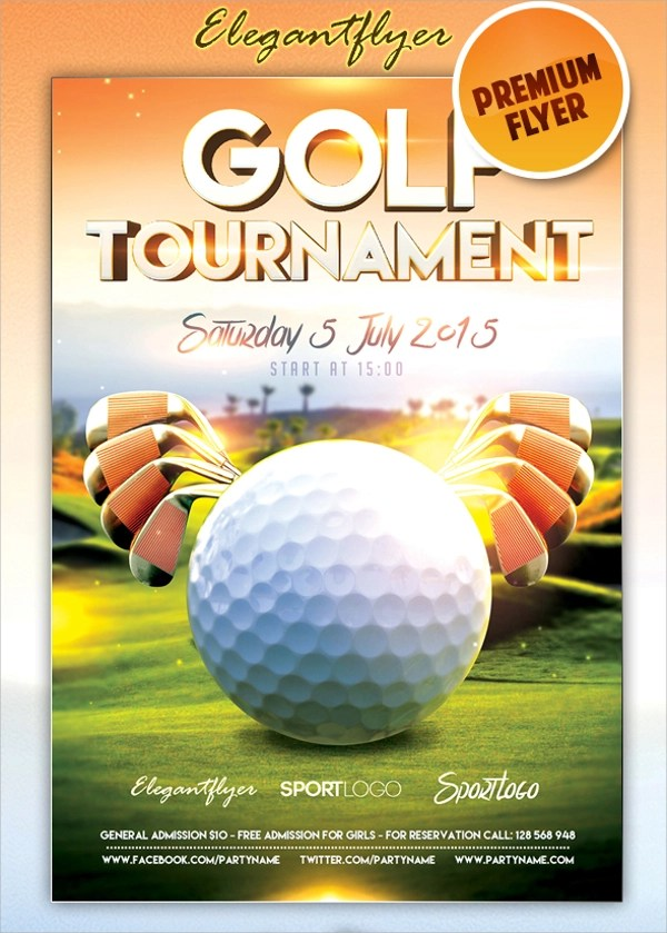 21+ Golf Tournament Flyer Templates Sample Templates - golf tournament flyer template