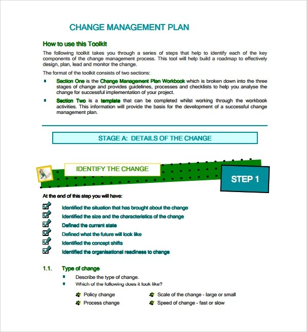 Change Management Template Free  NodeCvresumePaasproviderCom