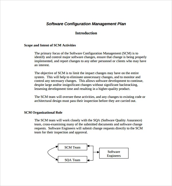 9+ Configuration Management Plan Templates Sample Templates