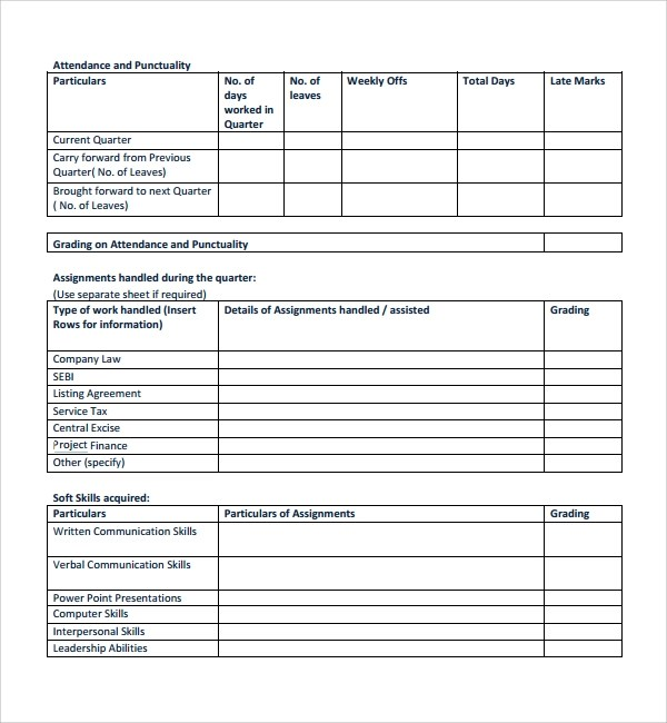 8+ Project Quarterly Report Templates Sample Templates