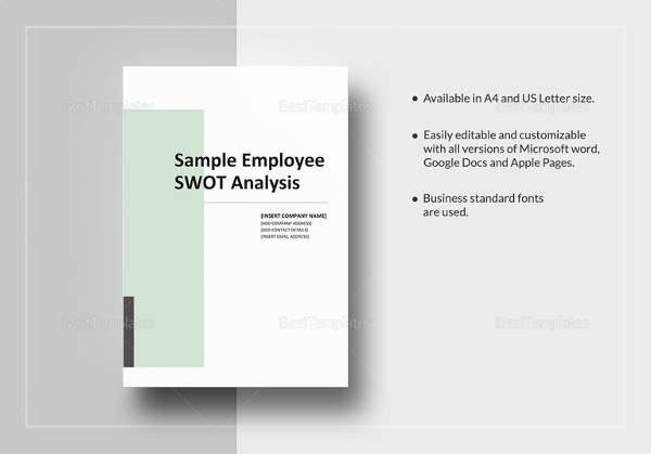 16+ SWOT Analysis Examples Sample Templates - Product Swot Analysis Template