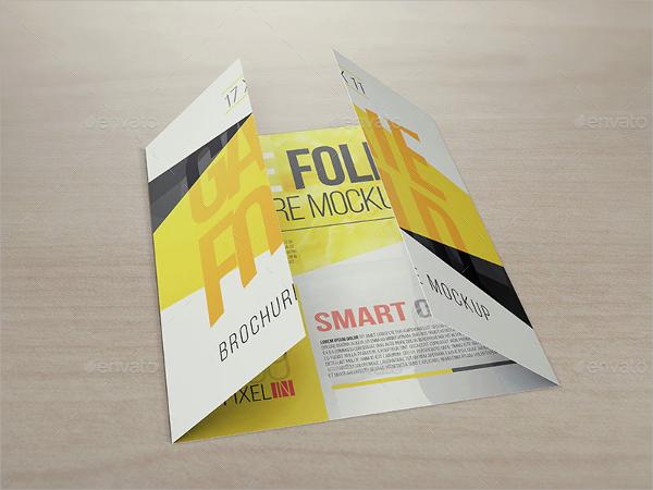 21+ Gate Fold Brochure Mockups Sample Templates - gate fold brochure mockup