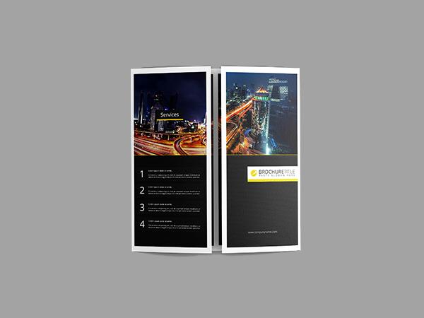 gate fold brochure mockup - Forevernowcenter - gate fold brochure mockup