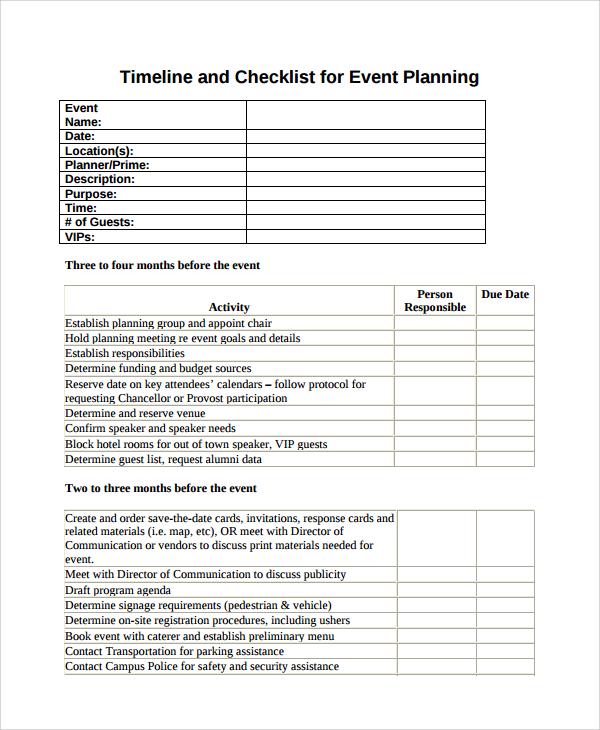 7+ Vendor List Templates Sample Templates - attendees list template