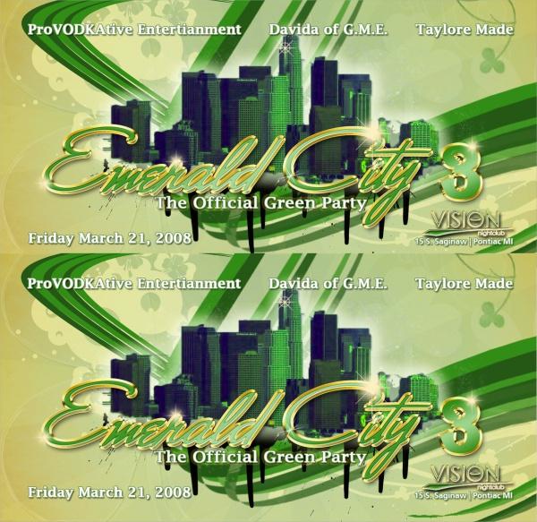 Emerald Flyer Template cvfreepro - emerald flyer template