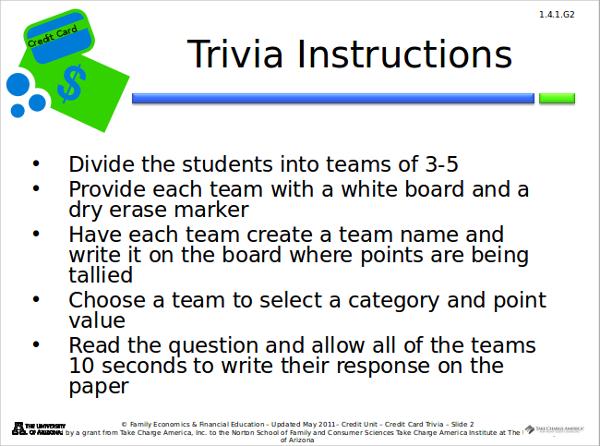 Trivia Powerpoint Template Quiz Powerpoint Template Free Quiz
