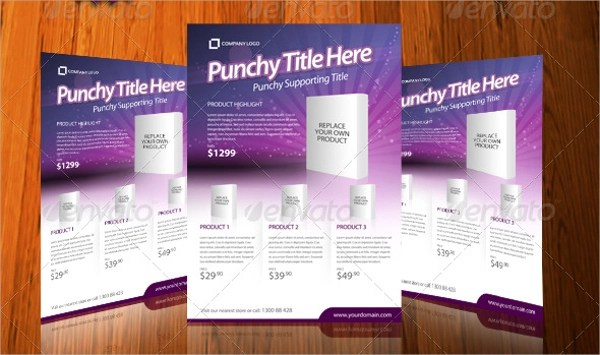 19+ Product Flyer Templates Sample Templates