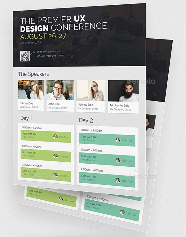 20+ Conference Flyer Templates Sample Templates