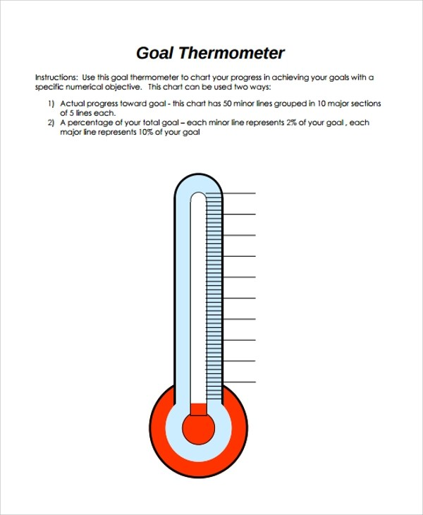 10+ Sample Thermometer Templates Sample Templates - thermometer template
